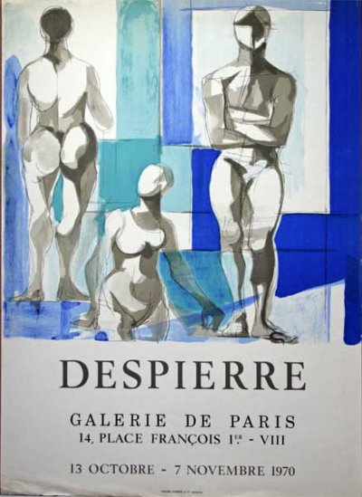 Jacques DESPIERRE (1912-1995) Affiche