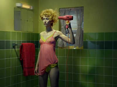 Chromo Thriller #3, 2012 © Miles Aldridge courtesy Huxley-Parlour Gallery