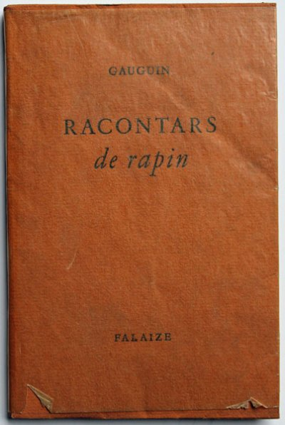 PAUL GAUGIN RACONTARS DE RAPIN