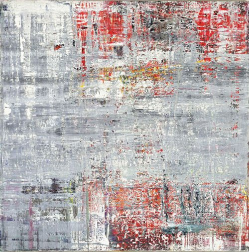 Gerhard Richter (German, b. 1932), Cage 4, 2006. Oil on canvas, 290 cm x 290 cm, Tate Modern, London, UK (loan from a private collection). © Gerhard Richter 2020