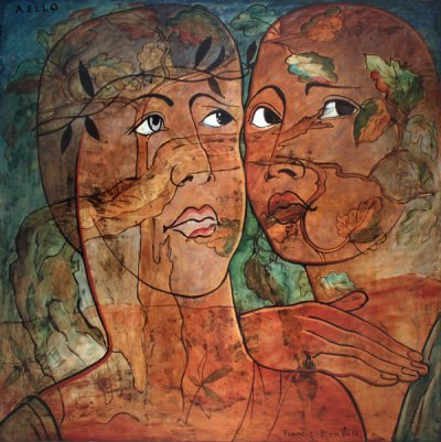 Francis Picabia. Aello. 1930. Oil on canvas, 66 9/16 × 66 9/16 (169 × 169 cm).  Private collection. © 2016 Artist Rights Society (ARS), New York/ADAGP, Paris
