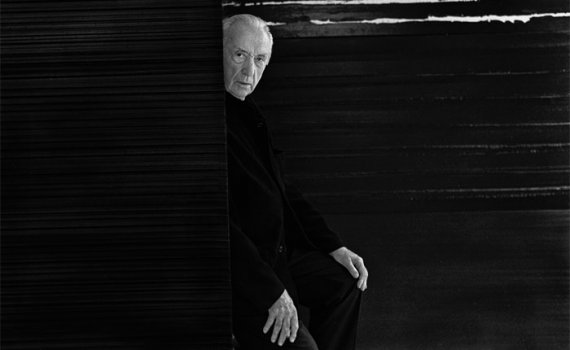 Pierre Soulages. Portrait de l'artiste, 2 octobre 2017_Collection Raphaël Gaillarde © Collection Raphaël Gaillarde, dist. RMN-Grand Palais/Raphaël Gaillarde © RMN-Grand Palais - Gestion droit d