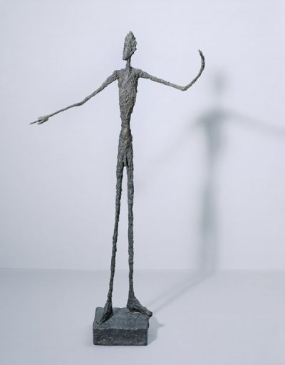 Alberto Giacometti Man Pointing 1947 Bronze 178 x 95 x 52 cm Tate, Purchased 1949 © Alberto Giacometti Estate, ACS/DACS, 2017