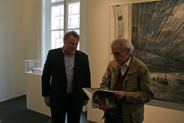 Christo Javacheff - Guy Pieters photo de Patrick H. Reynolds