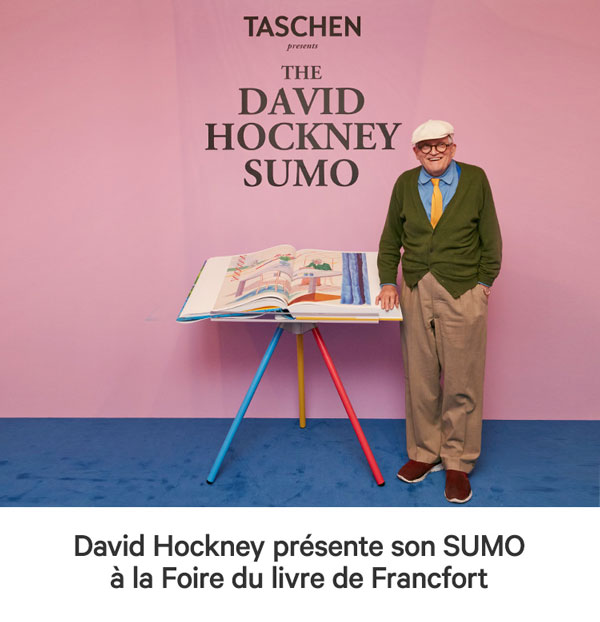 LE SUMO de DAVID HOCKNEY Editions Taschen
