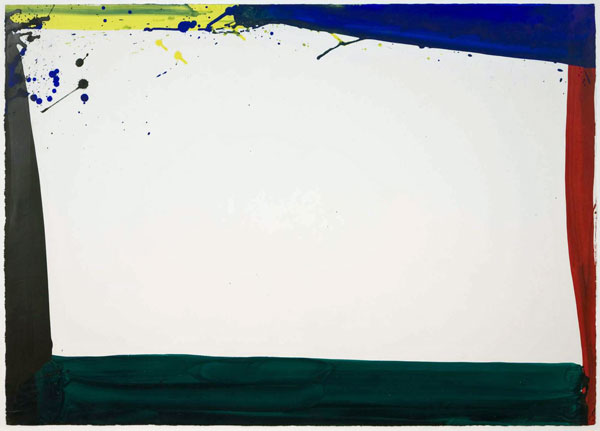 Sam Francis  Untitled, 1965  Signed and dated on the reverse  Acrylic on paper  74 x 102 cm