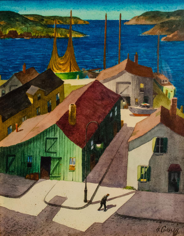 Henry Gasser (American, 1909 - 1981) Untitled (Gloucester)