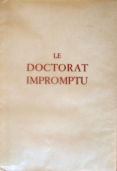Le Doctorat Impromptu illustrations de Klem