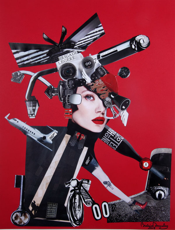 Béatrice Donneley collage 65 x 50 cm idea 33 avril 2018