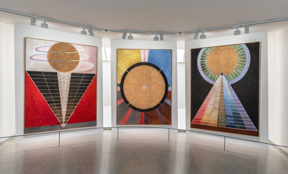 Solomon R Guggenheim Museum Hilma Af Klint Paintings For The Future