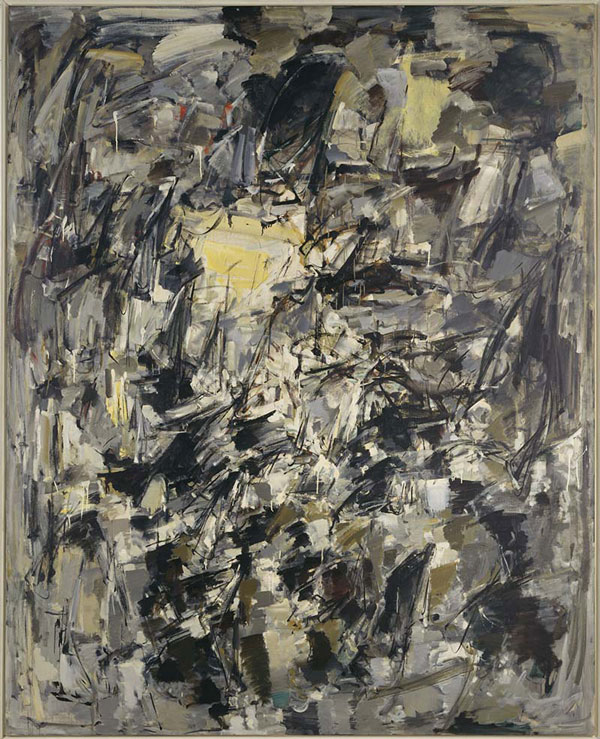JOAN_MITCHELL, sans titre 1954 - Photo (c) Centre Pomidou, MNAM CCI Dist RMN-Grand Palais Jacques Faujour
