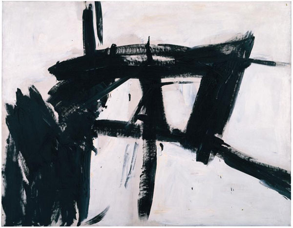 Franz Kline, Vawdavitch, 1955. Oil on canvas, 158.1 x 204.9 cm. Museum of Contemporary Art Chicago, Claire B. Zeisler 1976.39. © ARS, NY and DACS, London 2016. Photo: Joe Ziolkowski;